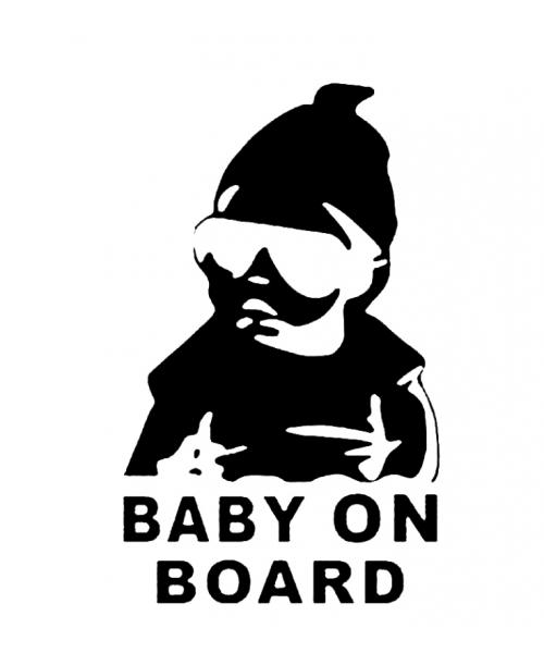 NAKLEJKA Dziecki w AUCIE BABY ON BOARD Auta Cars