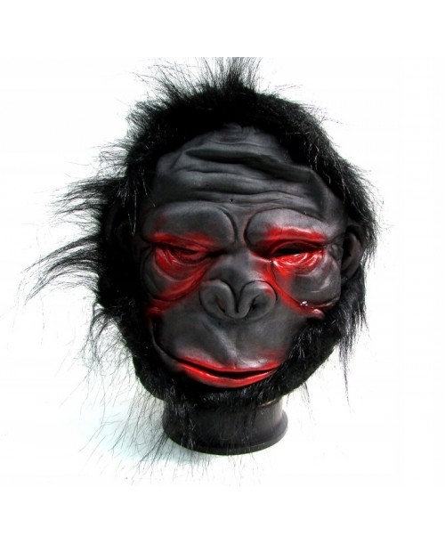 ZOMBIE GORYL lateksowa maska POTWÓR MAŁPA głowa