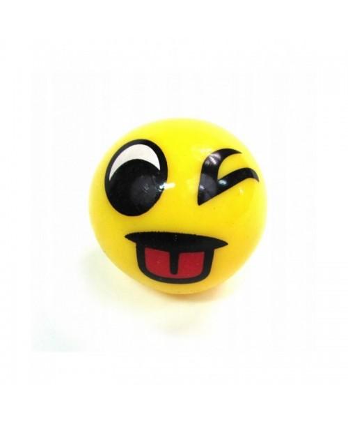 Piłeczka GUMOWA antystresowe EMOJI różne piłka 5cm