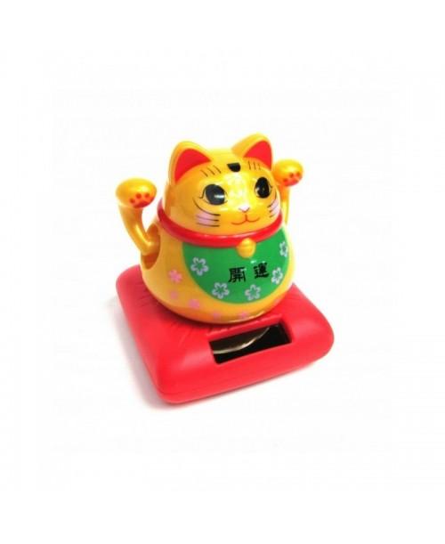 MANEKI-NEKO figurka JAPOŃSKIEGO kota SZCZĘŚCIA