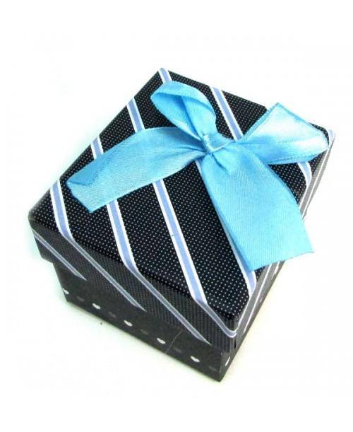PUDEŁKO prezentowe z kokardką 9 x 7,5 x 6,5cm