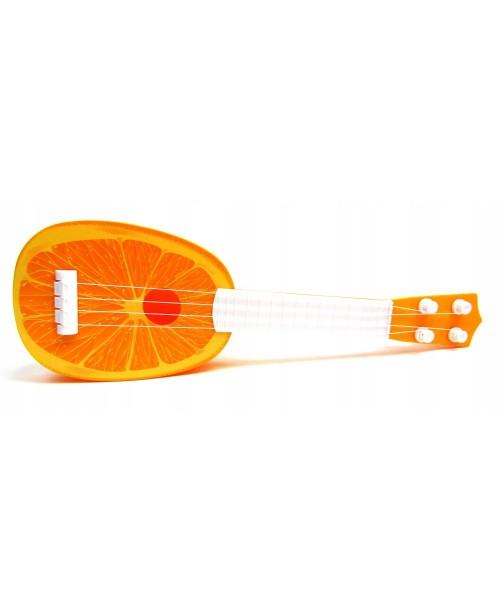Mini gitara DLA DZIECKA Owoce Arbuz Zabawka 36cm