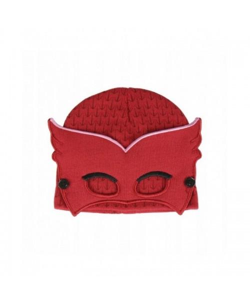 PJMASKS czapka zimowa z maską PIDŻAMERSI SOWELLA