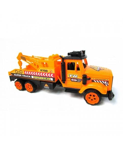 CIĘŻARÓWKA TIR pomarańczowa super truck 30cm