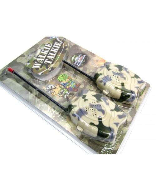 Militarne krótkofalówki moro walkie-talkie