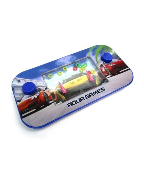 Konsola wyścigówki z grą wodne obręcze