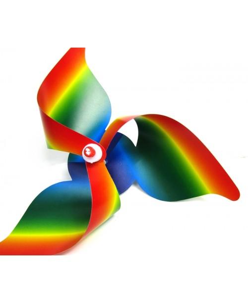 Zabawka wiatrak ze świecącą różdżką
