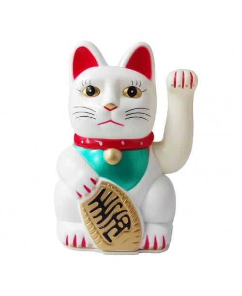 MANEKI-NEKO figurka JAPOŃSKIEGO kota SZCZĘŚCIA big