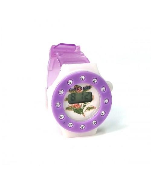 Dziewczęcy elektroniczny zegarek w różnych kolorach