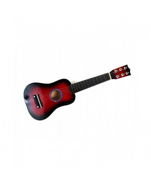 DREWNIANA gitara klasyczna dla dzieci +KOSTKA 53cm