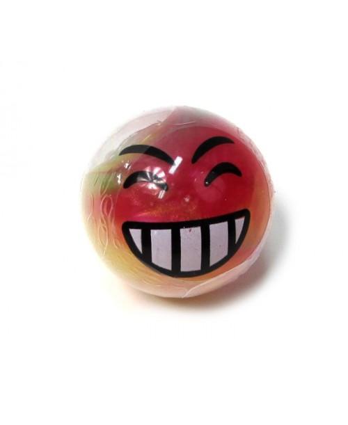 GLUT slime w kulkach Kolorowy EMOJI uśmieszek