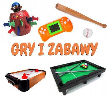 Zabawki sportowe, do ogrodu, do domu, gry zręcznościowe, skakanki, yoyo